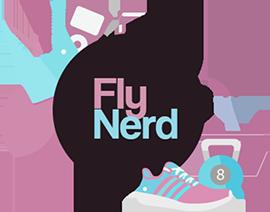 Logo Fly Nerd