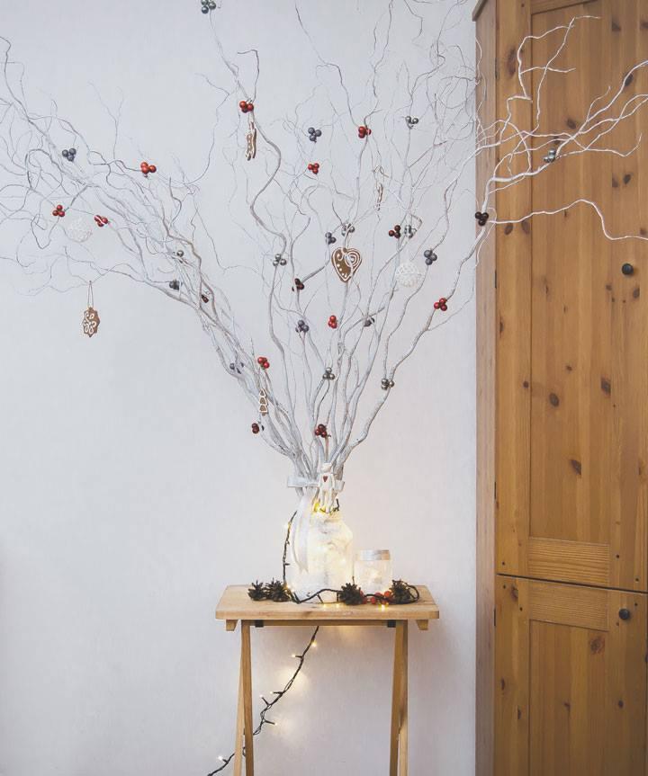 drzewko świąteczne DIY