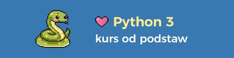 Python kurs dla początkujących