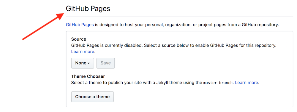 GitHub Pages - sekcja