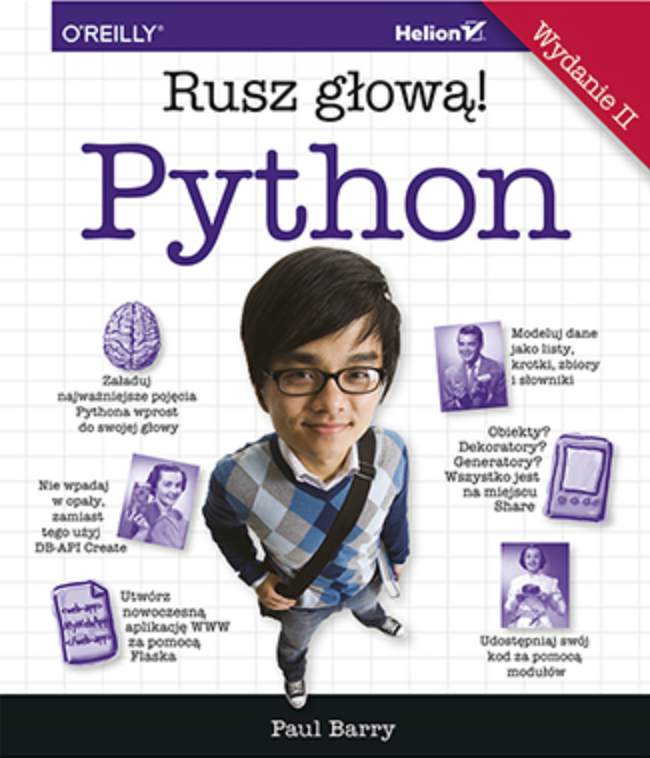 Python Rusz głową - recenzja