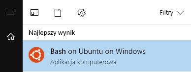 bash na windows