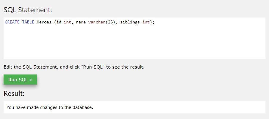 tworzenie tabeli - podstawy SQL