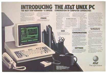 reklama UNIX