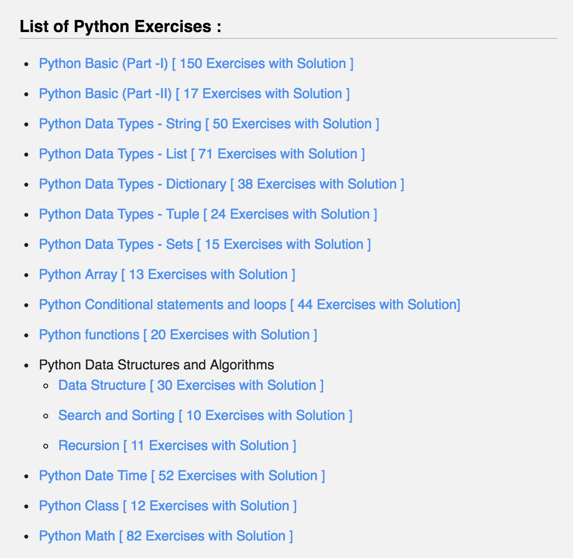 ćwiczenia Python