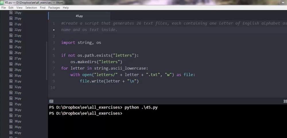 zadania Python wideo