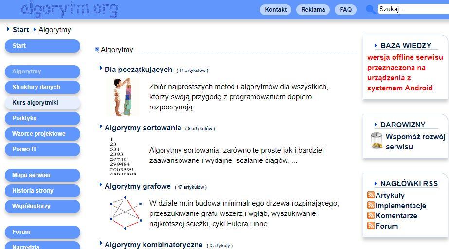 zadania algorytmy