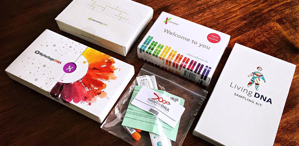 komercyjne testy DNA