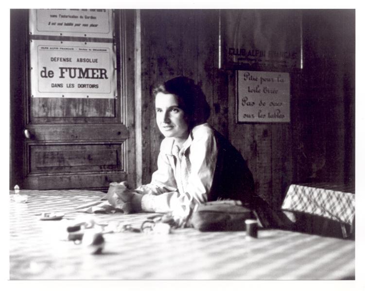 Rosalind Franklin w chacie alpejskiej