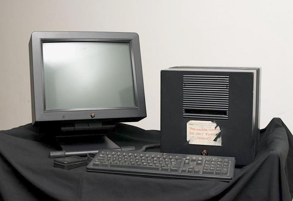 komputer Next - pierwszy serwer www