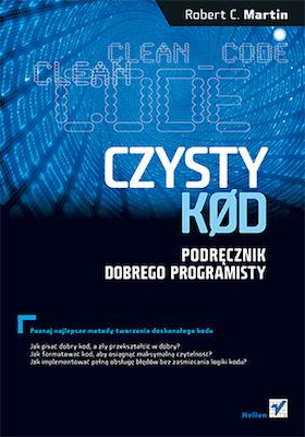 pomysł na prezent dla programisty C++ - książka Czysty Kod